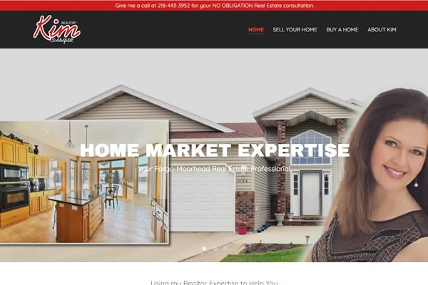 Websites for realtors in Fargo, Moorhead, Detroit Lakes