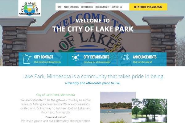 City websites available