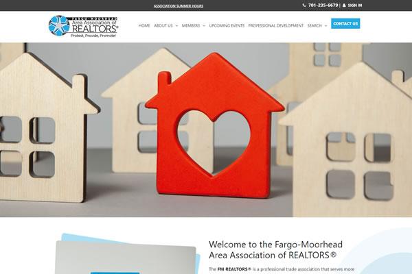 FM Area Association of Realtors website